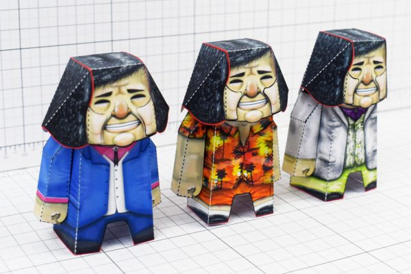 PTI- Bad Pen Project Paper Toys Photo - Line