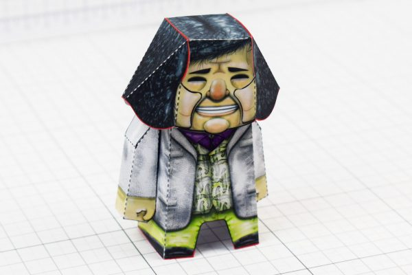 PTI- Bad Pen Project Paper Toys Photo - Metalic