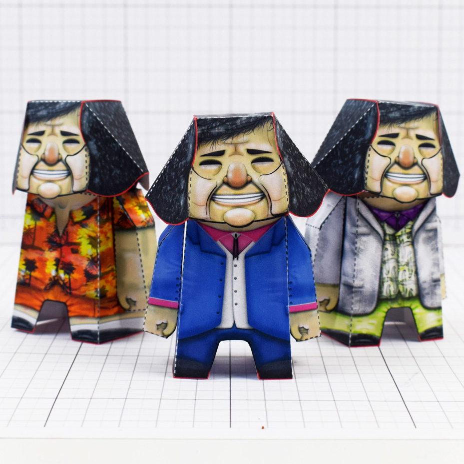 PTI- Bad Pen Project Paper Toys Photo - Square