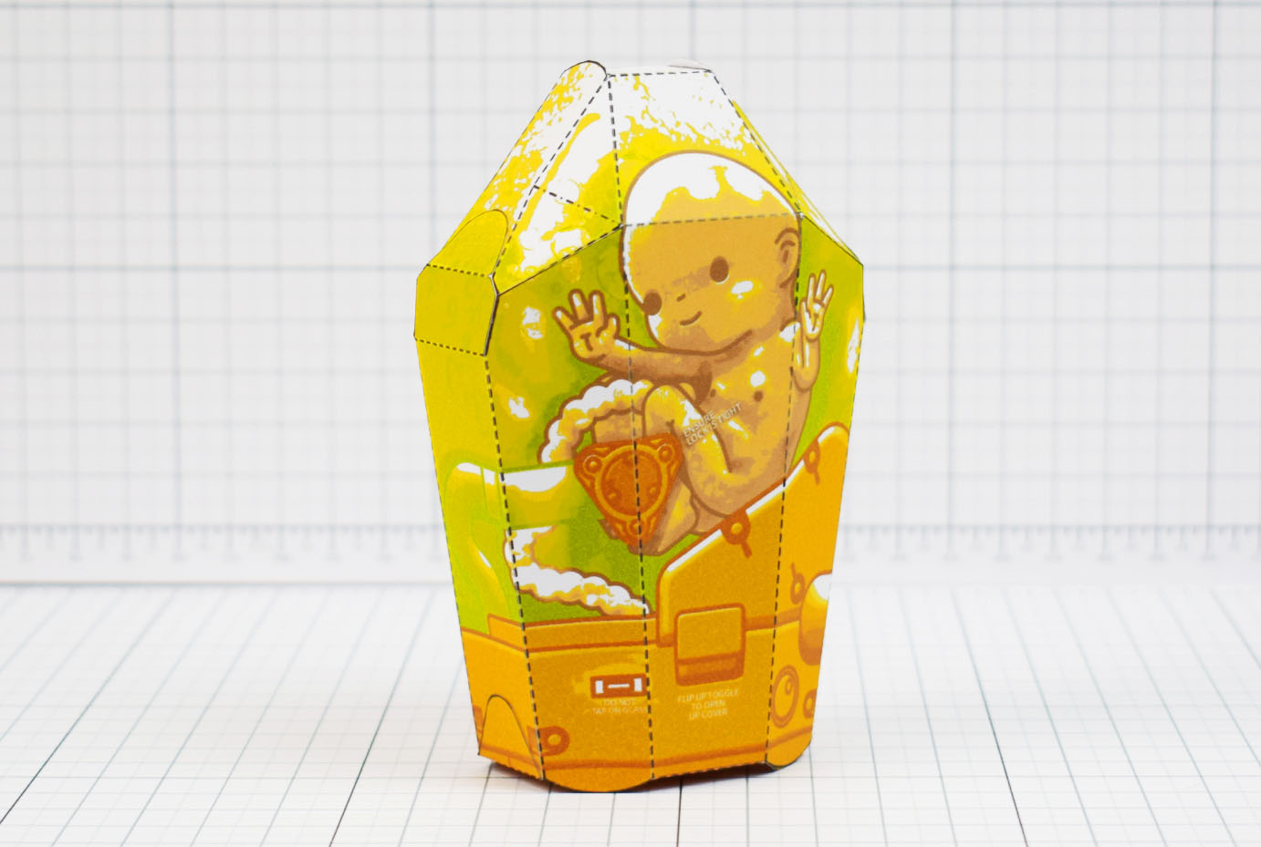 PTI - Death Stranding Fan Art BB Unit Paper Toy - Main