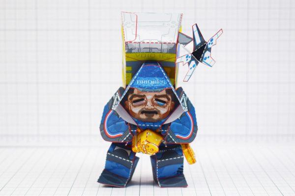 PTI - Death Stranding Fan Art Sam paper craft toy model - Front