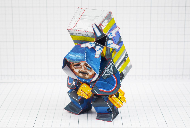 PTI - Death Stranding Fan Art Sam paper craft toy model - Main