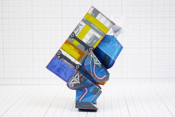 PTI - Death Stranding Fan Art Sam paper craft toy model - Side
