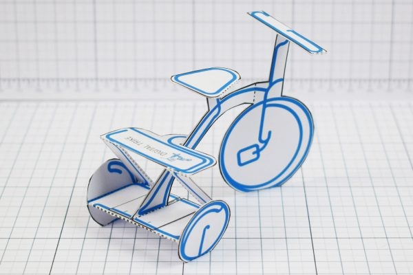 PTI - Digital Trike Promotional Toy - Back