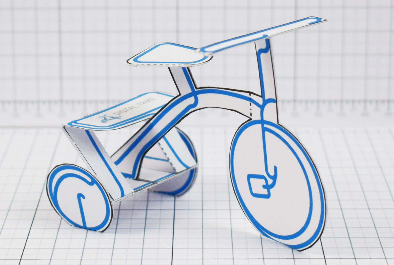 PTI - Digital Trike Promotional Toy - Main