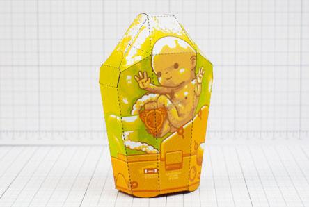 THU - Death Stranding Fan Art BB Unit Paper Toy - Thumbnail