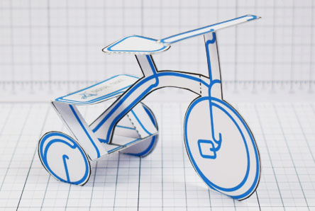 THU - Digital Trike Promotional Toy - Thumbnail