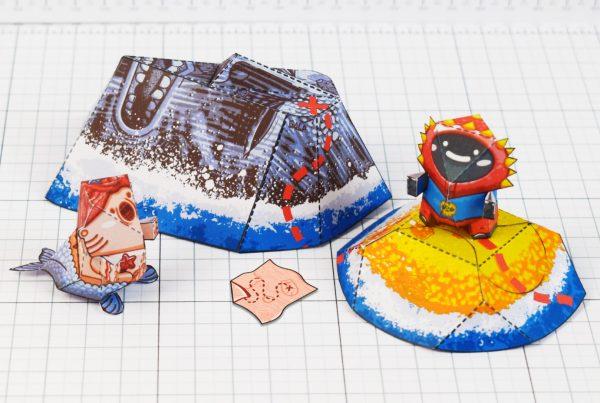 PTI - Plastibbo Popu Pirate Paper toys - Main
