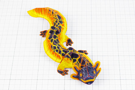 THU - Lava Lizard Monster Dragon Paper Toy Craft Mondel - Fold Up Toys 2020 - Thumbnail