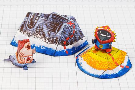 THU - Plastibbo Popu Pirate Paper toys - Thumbnail
