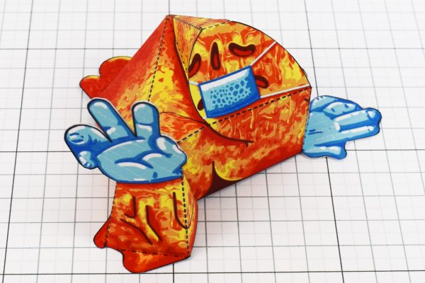 PTI - Covid Creature Paper Toy Playset - Creature