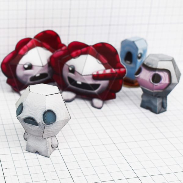 PTI - Binding of Issac fold up toys - paper toys - Gurgling