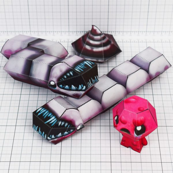 PTI - Binding of Issac fold up toys - paper toys - Larry