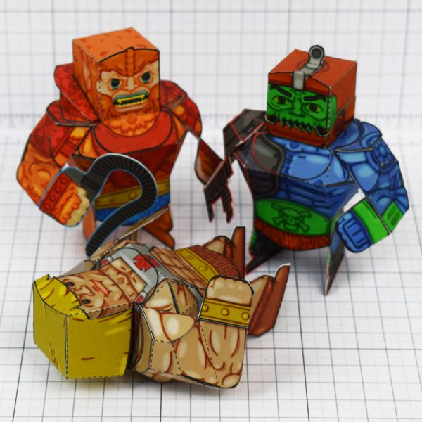 PTI - Fold Up Toys Eternains - Attack