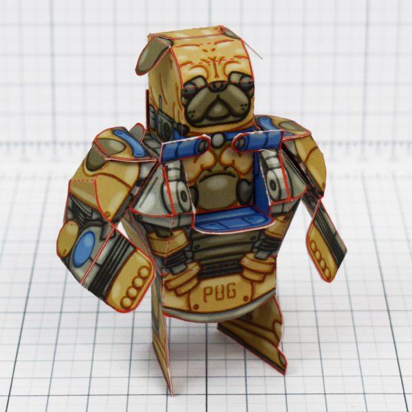 PTI - Fold Up Toys Eternains - C Bark Plug