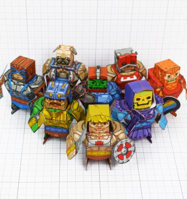 PTI - Fold Up Toys Eternains - Large Group