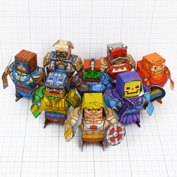 PTI - Fold Up Toys Eternains - Large Group