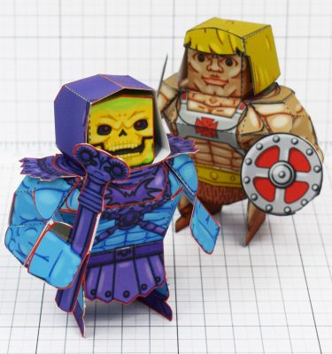 PTI - Fold Up Toys Eternains - Skeletor and he-man