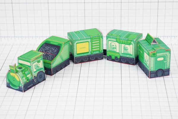 PTI - Ghost Train Fold Up Toys Image - Chill