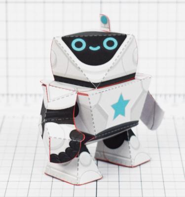 PTI - circuit siblings paper robots - Front