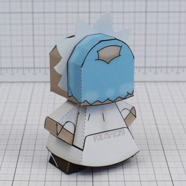 pti - Rick and Morty Paper toy - Rick 3