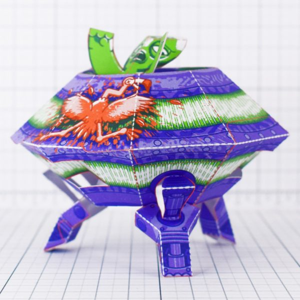 PTI - UFO Fold Up Toy - Landing 1