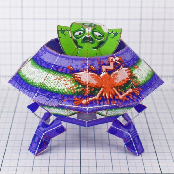 PTI - UFO Fold Up Toy - Landing 4