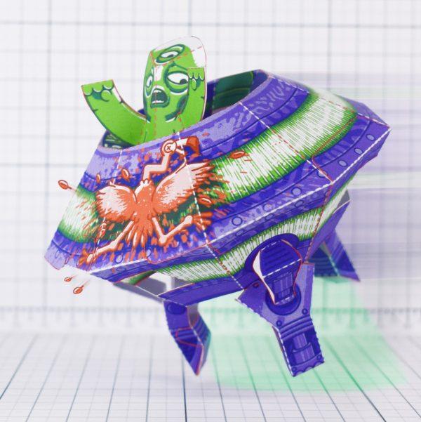 PTI - UFO Fold Up Toy - Main