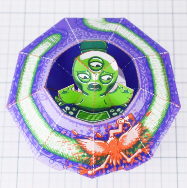 PTI - UFO Fold Up Toy - Top