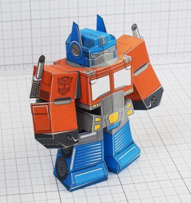 PTI- Optimus prime square