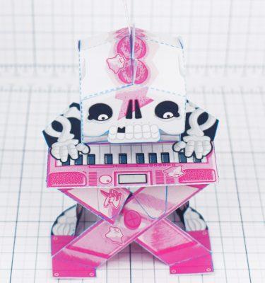 PTI - Undead Punk Skeleton - Top