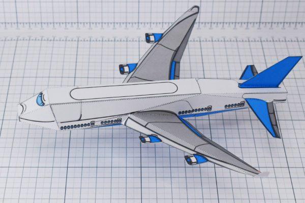 PTI - jumbo jet paper craft