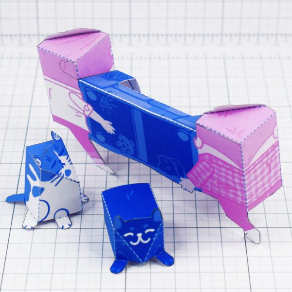 PTI - Moving House Fold Up Toy - Back