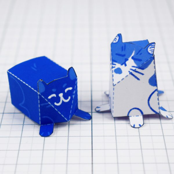 PTI - Moving House Fold Up Toy - Cats