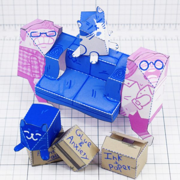 PTI - Moving House Fold Up Toy - Main