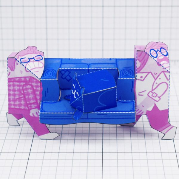 PTI - Moving House Fold Up Toy - Walk