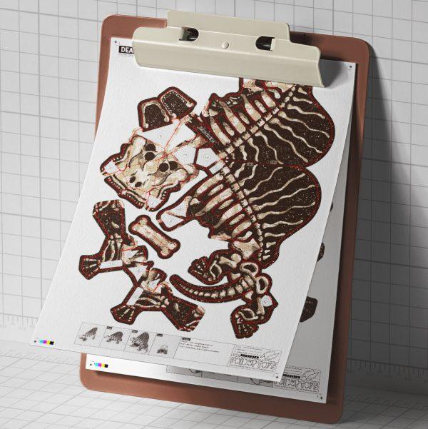 MU - Dead Dimetrodon - Mockup