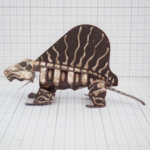 PTI - Dead Dimetrodon - Side