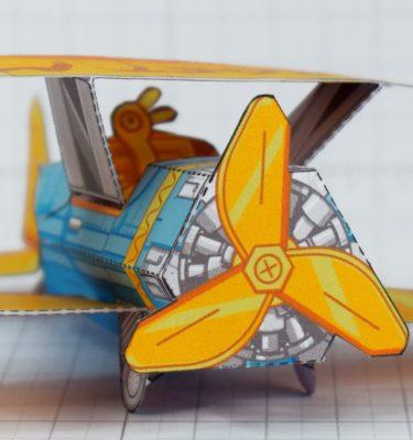 PTI - Biplane Fold Up Toy - Cockpit