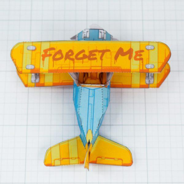 PTI - Biplane Fold Up Toy - Top