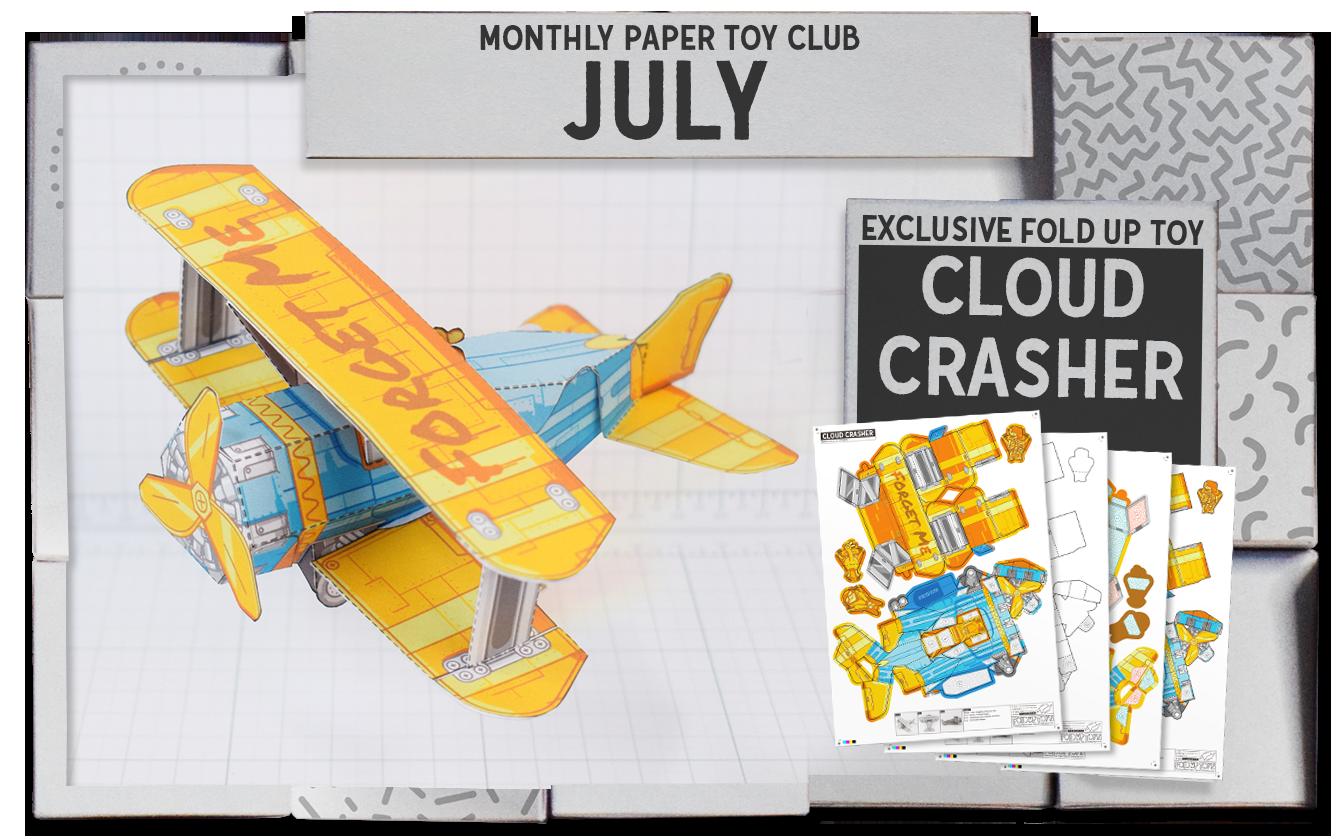 Social media templates - Patreon - Cloud Crasher
