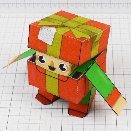 PTI Christmas Paper Toy Craft Decoration CuteBox Elf Image - 2021 Thumbnail