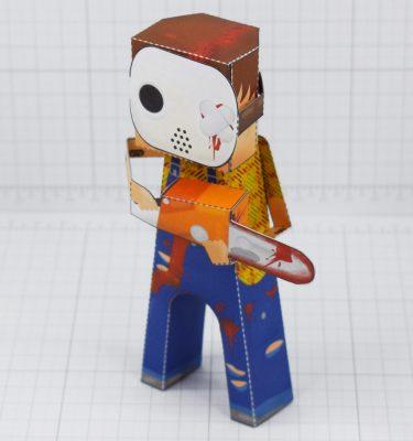 PTI- Hockey Mask Murderer 2021 - Fold Up Toy - Main