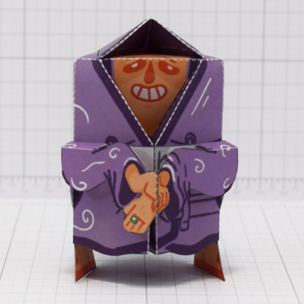 PTI-Melting Mage Paper Toy - Front