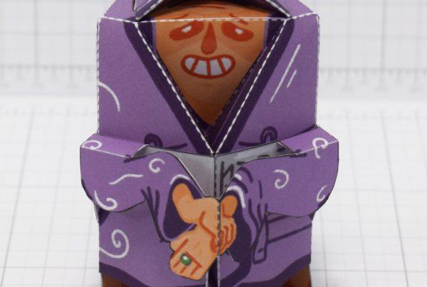 PTI-Melting Mage Paper Toy - Main