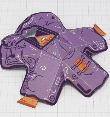 PTI-Melting Mage Paper Toy - Melted