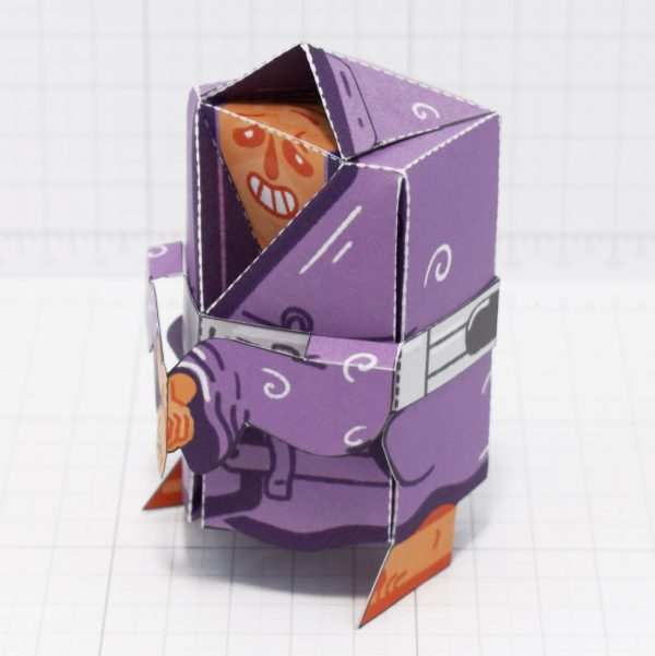 PTI-Melting Mage Paper Toy - Top