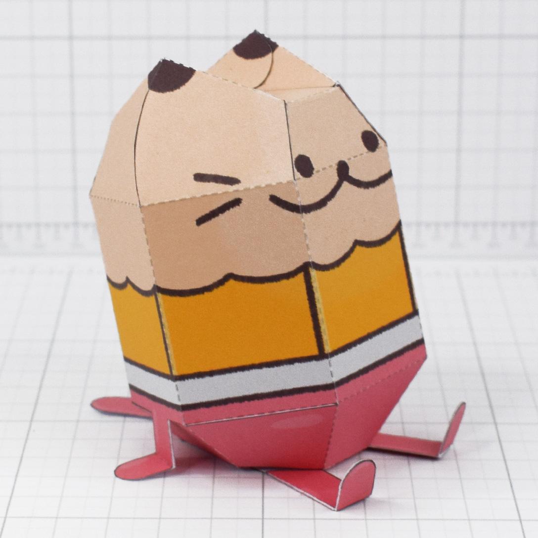 PTI - Pencil Cat Fold Up Toy - Main
