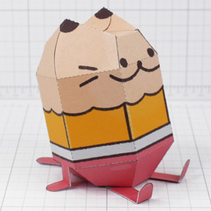 PTI - Pencil Cat Fold Up Toy - Thumbnail