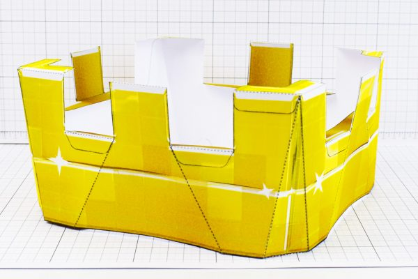 PTI - Minecraft Crown - Fold Up Toy - Low